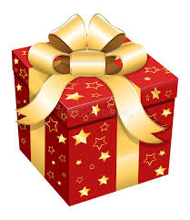gift box wrapping gift box christmas vector illustration stock vector