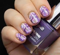 688 best floral stamping nail art images on pinterest floral