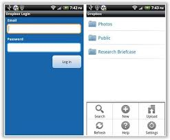 dropbox app for android dropbox for android makes file synching simple review