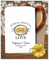 pretzel bags for favors custom pretzel bags 24 bags wedding pretzel bags wedding