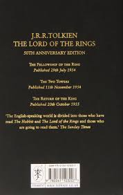 lord of the rings 50th anniversary edition the lord of the rings co uk j r r tolkien