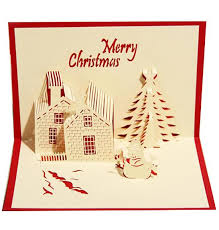 blessing invitation 3d three dimensional greeting card business blessing christmas