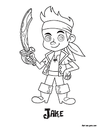 jake pirate coloring pages coloring pages