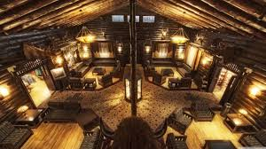 cabin style smart log cabin style hotel lobby imgday com