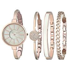 bangle bracelet watches images Anne klein women 39 s ak 1470rgst rose gold tone bangle watch and jpg