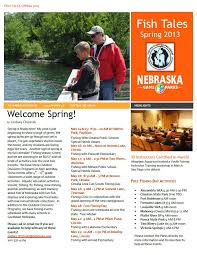 youth fishing instructor newsletter spring 2013 nebraskaland