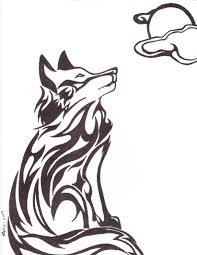 tribal wolf by white ookami goddess on deviantart