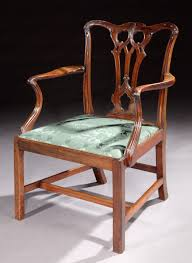thomas chippendale a george iii mahogany armchair by thomas