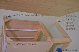 Kitchen Cabinets In Stock How To Make A Built In Bed Using Stock Kitchen Cabinets Hometalk