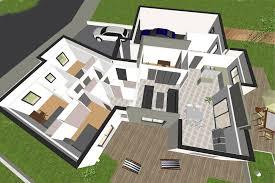 plan de maison 3 chambres salon plan maison moderne 3 chambres systembase co