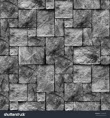 Wall Pattern by Seamlessly Stony Wall Background Texture Pattern Stock Photo