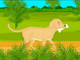 short moral stories for kids the greedy dog story the dog and