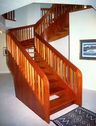 Home Design For Stairs by Architecture Wooden Handrails For Stairs With Wood Treads Ideas