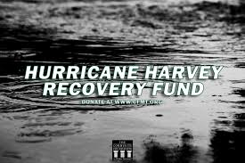 give to the hurricane harvey recovery fund the community