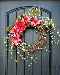 spring door wreaths door wreath ideas spring door wreaths spring wreath for front door