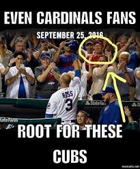Chicago Cubs Memes - chicago cubs memes on twitter even cardinals fans root for this