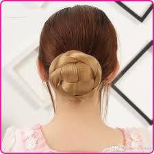 bun scrunchie fashion womens hair bun donut synthetic scrunchie hair bun cover
