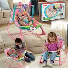 Newborn Swing Chair Bouncer Fisher Price Fisher Pink Newborn To Toddler Rocker