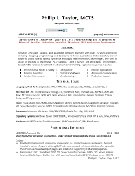 programming resume exles cover letter database programmer