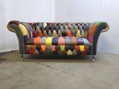 Chesterfield Sofa Patchwork Details About Anna Scroll Chesterfield 2 Seater Luxury Fabric