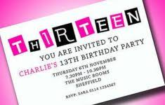 birthday invitation for teenager gallery invitation design ideas