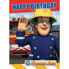 fireman sam happy birthday card danilo
