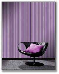 Bedroom Purple Wallpaper - face the fear purple and green anita brown 3d visualisation