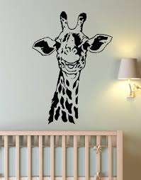 vinyl wall art decal sticker giraffe neck for kids room 145