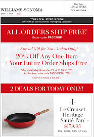 williams sonoma black friday williams sonoma ads pictures to pin on pinterest pinsdaddy