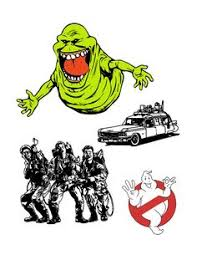 ghostbusters clipart spirit pencil color ghostbusters
