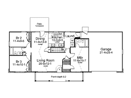 ranch homes floor plans foxmyer country ranch home plan 007d 0134 house plans and more