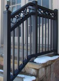 stainless steel exterior aluminum stair railings new staircase ideas
