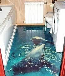 Unique Bathroom Floor Ideas Brilliant Unique Bathroom Floor Ideas Water Images Dolphins And
