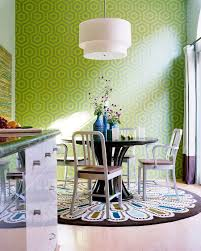 Colorful Kitchen Table by Dinning Rooms Cool Living Space With Kitchen Also Brown Wood