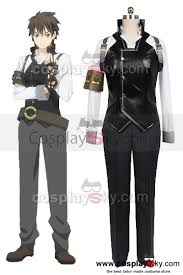 unbreakable machine doll raishin akabane cosplay costume