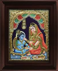 lord krishna hd canvas paintings krishna modern wall art