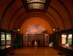 frank lloyd wright living room wright home and studio traditional living room chicago by