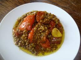 cuisiner le curcuma lentilles vertes au curcuma veggie gastronomie