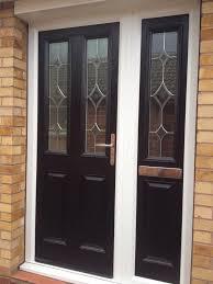 amazing modern composite door design ideas come with black