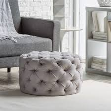 Room And Board Ottoman by Mix And Chic Fabulous Finds Round Tufted Ottoman For Less Than 150