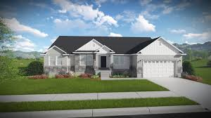 What Is A Rambler Style Home Olivia Rambler Style Floor Plan Edge Homes
