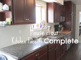 Facelift Kitchen Cabinets House Tour Kitchen Facelift Complete Our Cone Zone