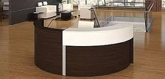 Laminate Reception Desk Semi Circle Laminate Reception Desk Bina Office Furniture New