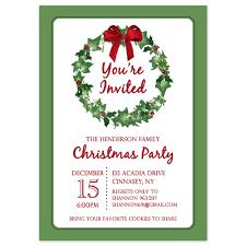 holiday party invitations templates u2013 gangcraft net