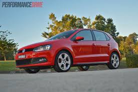 volkswagen polo red 2013 volkswagen polo gti review video performancedrive