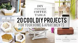 cool home design 20 cool home decor diy project youtube