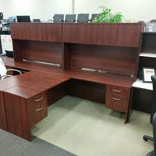 office desk l shaped with hutch office desk l shaped desks u2013 showroom model used price u2013 oiled