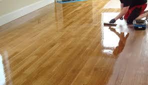 sanding and polishing staining timber floors pj
