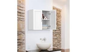 kitchen wall cabinet load capacity home kitchen bathroom laundry 2 door 1 wall mount cabinet white