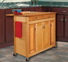 Catskill Craftsmen Kitchen Island by Catskill Craftsmen Butcher Block Island With Flat Panel Doors